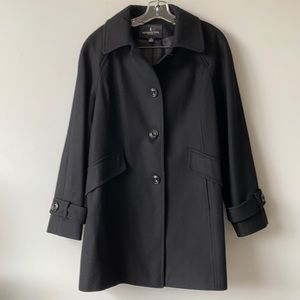 London Fog Wool Blend Pea Coat/Jacket, siz…